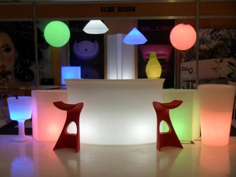 Beleuchtete Möbel