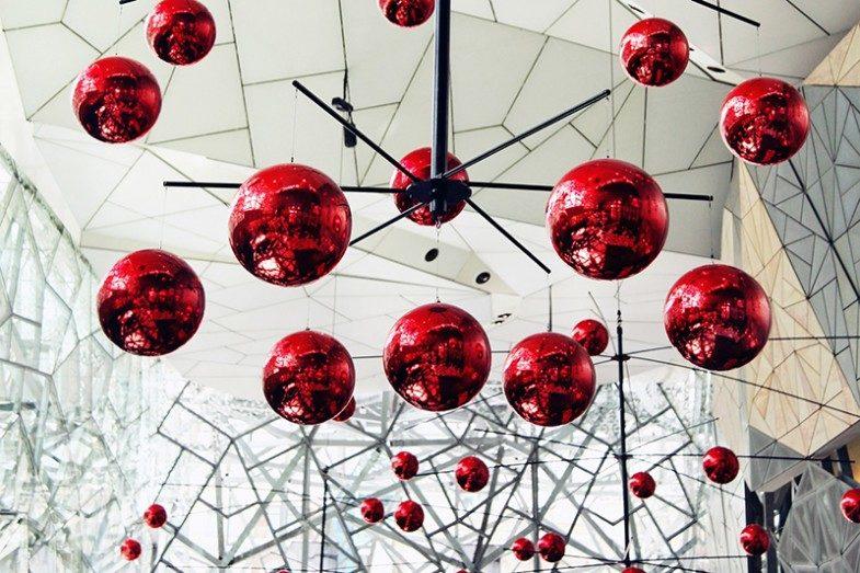 Große Weihnachtskugeln - X-Mas Ball