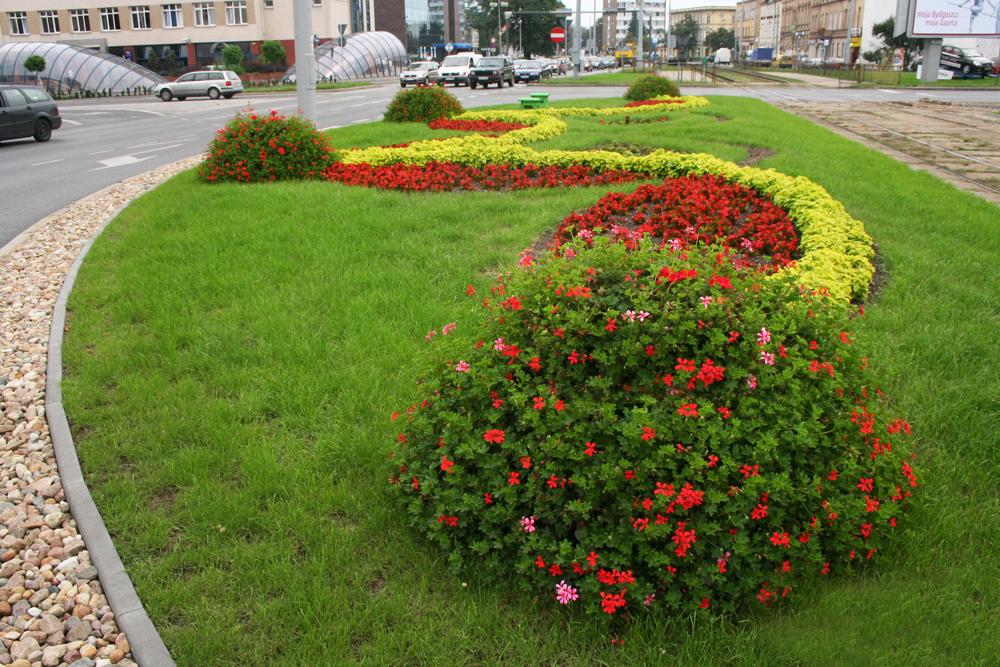 Blumenkaskaden H750