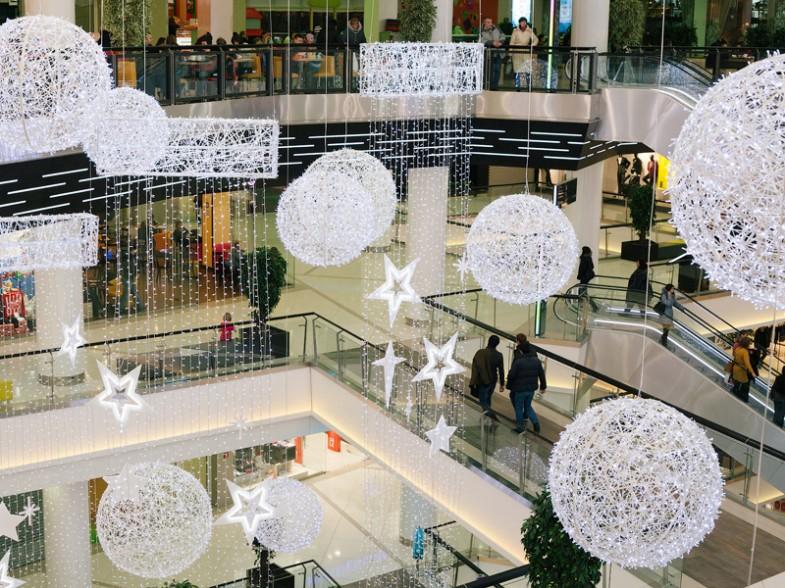 Weihnachtsdekorationen für öffentliche Räume