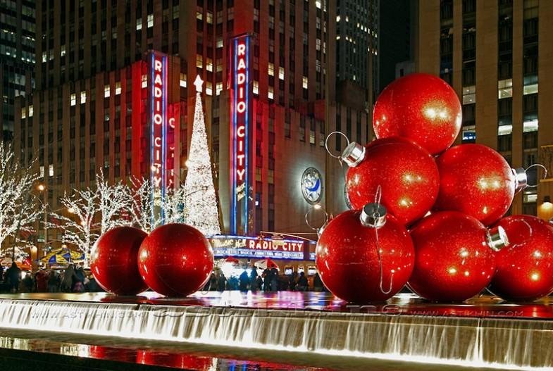 Weihnachtskugeln in der Größe XXL