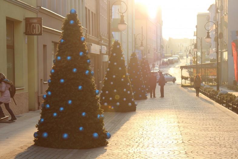Weihnachtsarrangement Ihrer Stadt