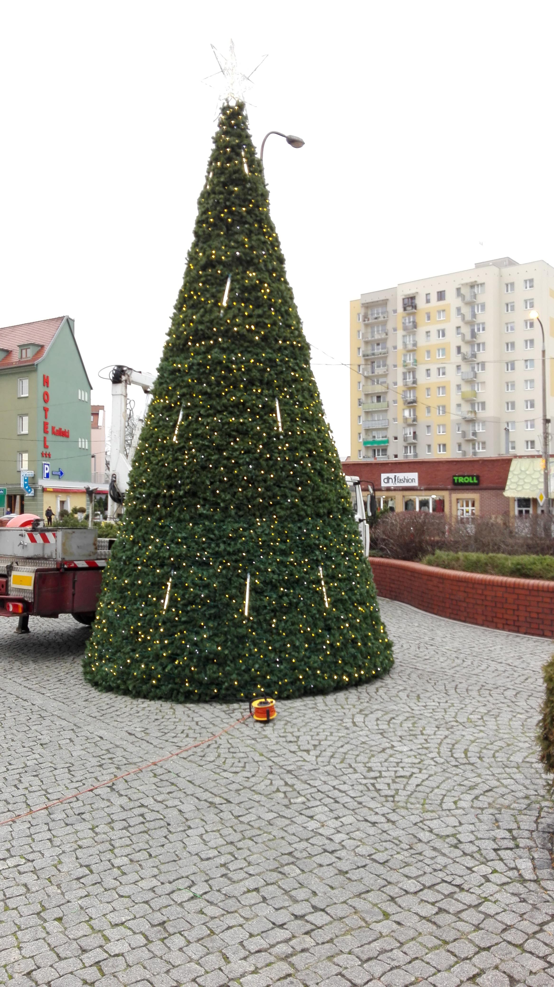 Weihnachtsüberzüge für Städte
