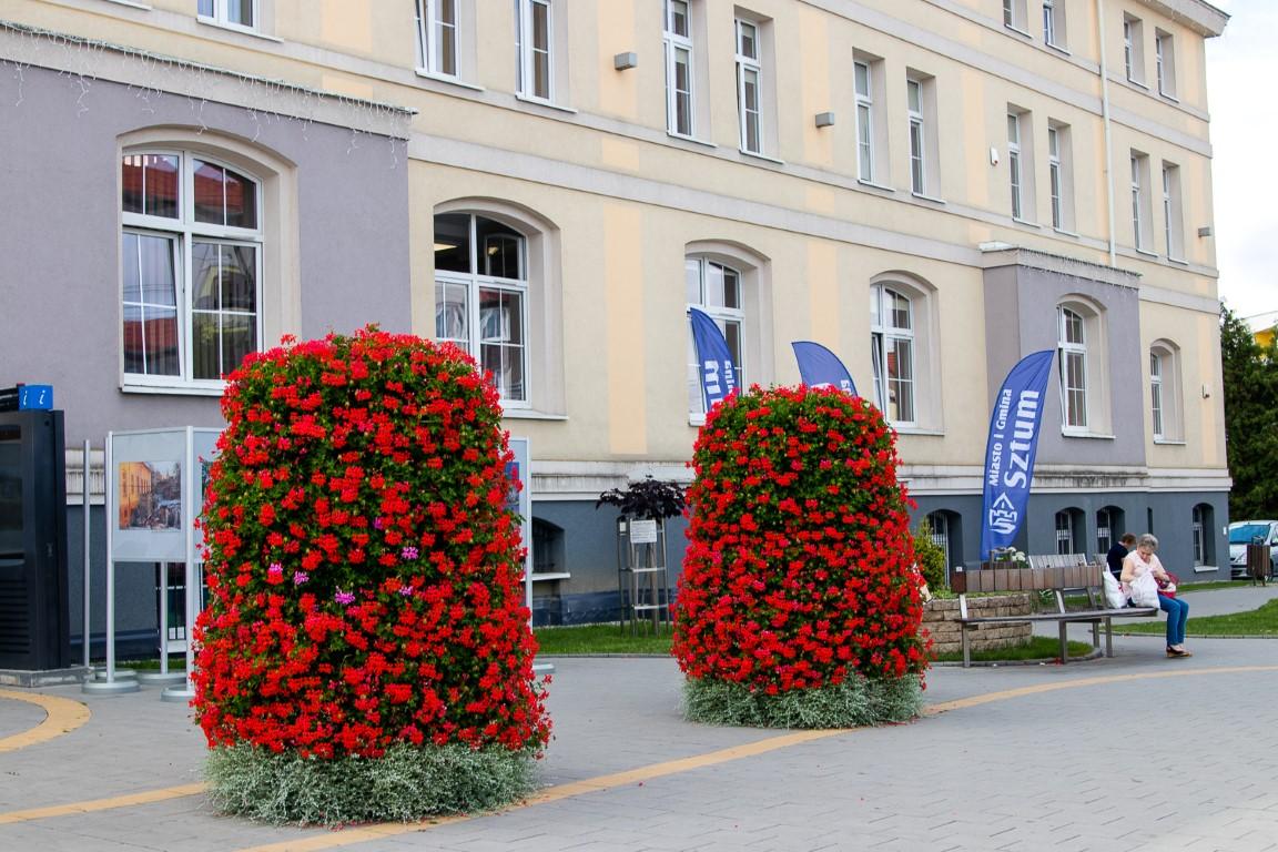 Blumenkaskade